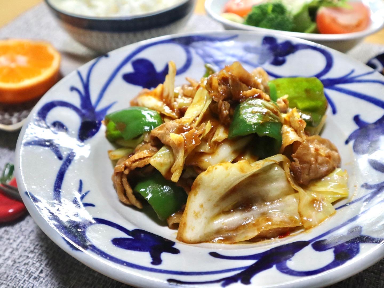 写真:春キャベツの回鍋肉