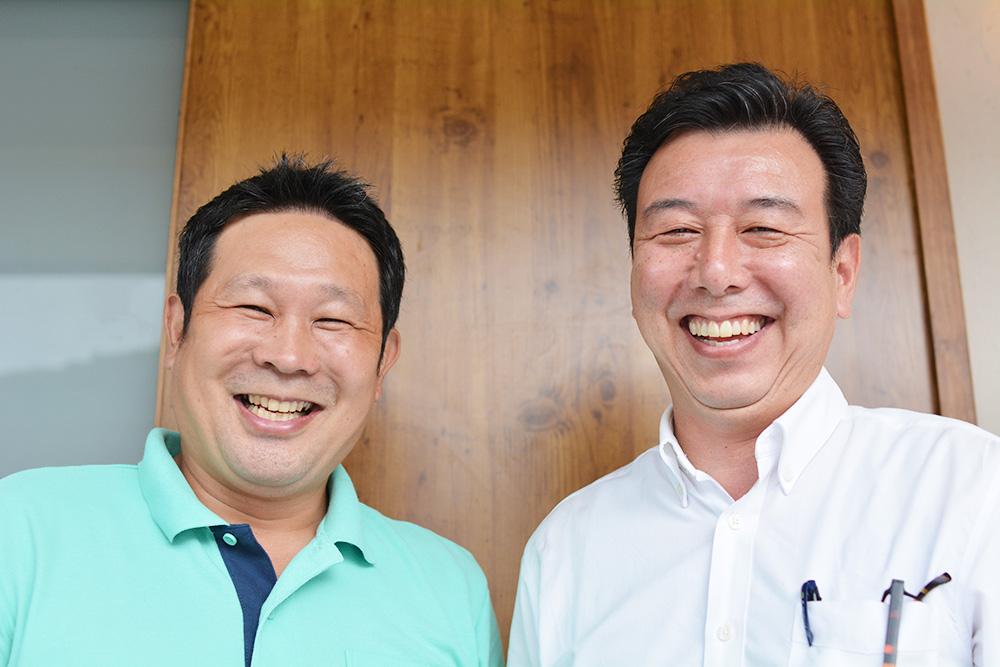 写真:笑顔畑の山ちゃんファームさんとバイヤー